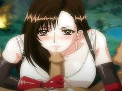 Tifa blowjob english subs final fantasy