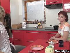 He find out threesome orgy with his young wife