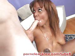 Sinnamon love ass fucked swallows cum shot