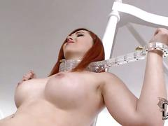 anal, lesbian, pussy, licking, shaved, spanking, toys, piercing, french, domination, heels, eating, insertion, eva, high, red, hair, summers, angell, parcker