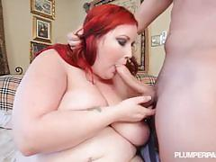 """dual cocks to allure"" with bbw eliza allure."