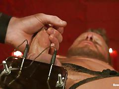 bondage, gay bdsm, masked, gay handjob, lube, hot gays, electrocuted, hunks, bound gods, kink men, connor maguire, jeremy stevens
