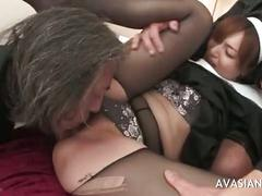hardcore, amateur, threesome, asian, beautiful, nun, gangbanged