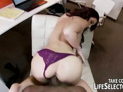 Office fuck with bridgette, anissa and jayden