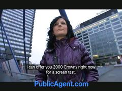 Public agent creampies hot slut lenka