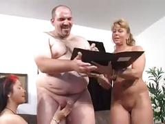 Two mature women and man - 2