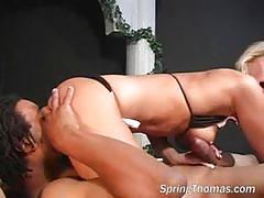 Black cock slut dick james back to my world!