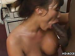 Nurse ava devine interracial fuck
