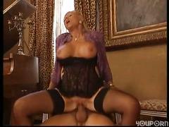 Mature blonde fucks her man - free porn videos - youporn