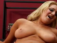 blonde, sucking, blowjob, bigtits, hardsex, natural-tits