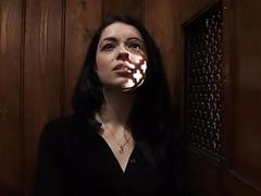 British babe absolves sins at confessional gloryhole