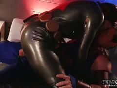 Black widow sucks and fucks hawkeye's cock