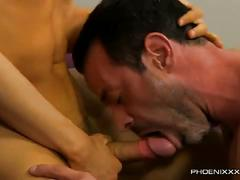 Sexy twink loves big daddy's hard cock
