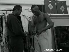 Black gangsters fucking each other