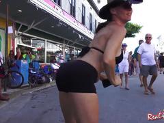 Naked street flashers fantasy fest key west