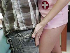 babe, hospital, nurse, uniform, deepthroat, blowjob, brunette, hot body, wicked pictures, brandy aniston
