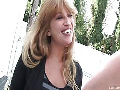 milf, blonde, rimjob, moms, friends mom, muscled guy, your mom tossed my salad, lucky benton, christian xxx