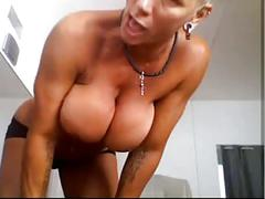 Bysty milf heather with 15 piercing rings in her pussy hot
