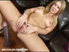 big tits, blonde, solo, pussy, toys, milf,