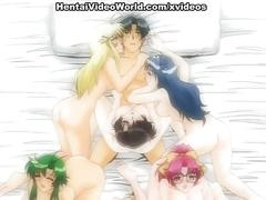 Very hot anal and pussy anime fucking
