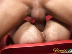 Anal stuffing with party latino boys