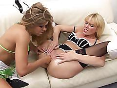 German blonde - anal fisting