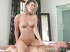 Mom horny