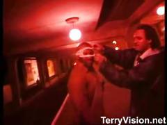 British sluts laura and kelly flashing and fingering on the underground