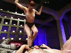 milf, femdom, redhead, kinky, fetish, foot worship, feetjob, foot worship, kink, maitresse madeline, casey more