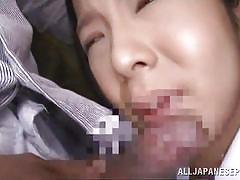 Big breasted japanese girl fucked from behind