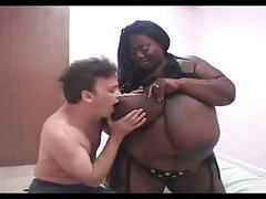 Humongus bbw black tits