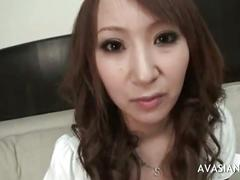 Young asian slut gets undressed