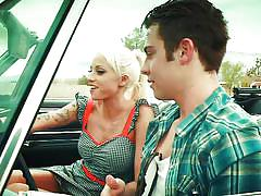 german, outdoor, blowjob, reverse cowgirl, blonde babe, desert, on car, digital playground, madison ivy, vanessa cage, james deen, rikki six, selena rose, stoya