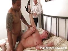 Hot blonde amanda hawk nailed with a large black cock