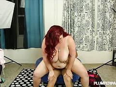 big dick, hardcore, big tits, milf, busty, pussy, reverse cowgirl, doggy style, fat, voluptuous, mom, shaved pussy, chubby, big boobs, huge tits, chunky, amateur, reality, big cock, red head