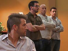 milf, threesome, handjob, blowjob, babes, brunette, muscled guy, women kissing, wicked pictures, capri cavanni, sadie holmes