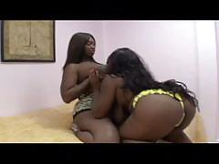 The big ebony lesbian with enormous ass