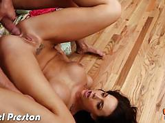 Hard anal for hot chanel preston