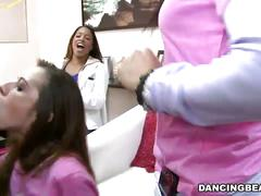 Sucking black cock at bachelorette party