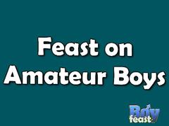 Amateur nathan and lucas from boy feast