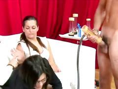 Cfnm amateur femdoms handjob and cumshot