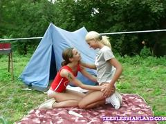 Innocent lesbian hot girls outdoor sex