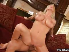 Busty milf nadia hilton serves fat cock