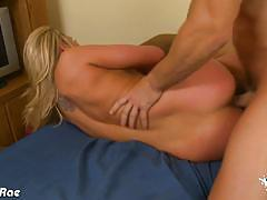 Big breasted blonde alanah rae gets drilled hard