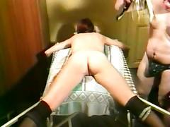 Amateur lady fisted and stretched part 3