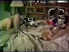 Classic amateur threesome
