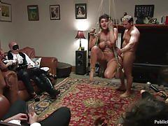 Charley chase - hogtied and fucked