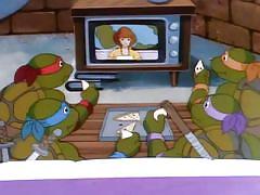 blowjob, cartoon, captured, from behind, april oneil, april, villain, ninja turtles, rat king, drawn hentai