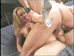 Dp and ass creampie