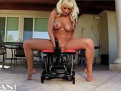 Busty milf briana blair rides the rocker